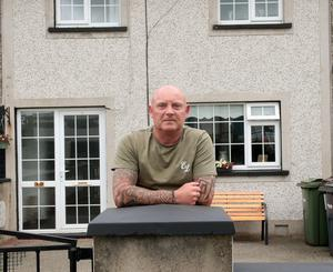 Brian Dempsey at his family's home in Liam Mellows Park.