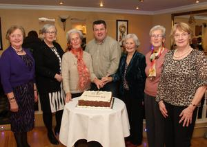 At the Taghmon Senior Citizens Christmas Party in the Oak Tree Foulksmills last Tuesday night were David and Eleanor Killeen and Mary Carroll.