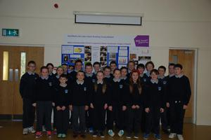 Pupils from Broadway NS.