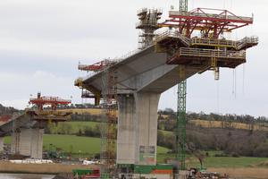 Construction work continues on the €212 million New Ross bypass project