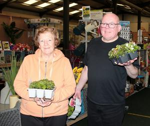 Mary and Nicky Kehoe from Wexford at Drinagh Garden Centre