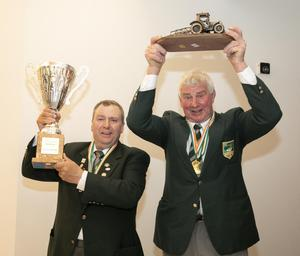 European champion in the reversible class Dan Donnelly from Kilmuckridge and European champion in the conventional class, Martin Kehoe from Clongeen.