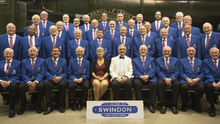 The Swindon Male Voice Choir who will perform at Clonard Church on July 28