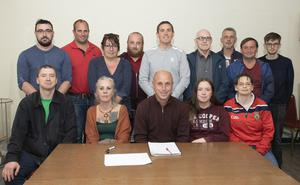 The meeting on a new outdoor music festival chaired by Mick Roche in St Joseph's Community Centre