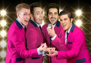 Frankie's Guys perform in the National Opera House on Saturday