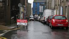 Lower Rowe Street closed off to through-traffic