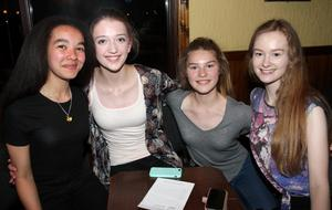 Tiana Smith, Gia Simmons, Catherine Devereux and Sinead Rafter.