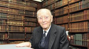 The late Liam Cosgrave, pictured in 2014.