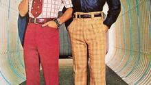 Red pants can be stylish as proven by the above image. Just saying.