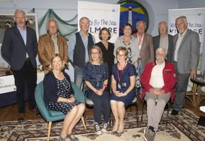 Festival committee members, helpers and participants. Back: Richard Hayes, John Nunn, Dave Daly, Sylvia Kehoe, Therese Burke, John Moran, Derek Burke and Cllr Jim Moore. Seated: Lucy Moore (Festival chairperson), Cat Hogan, Jean Cullinane and Jackie Hayden