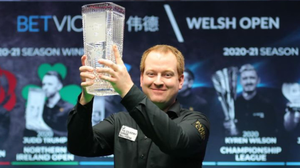 Jordan Brown, the shock winner of the Welsh Open