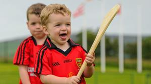 Children with smiles on their faces will be a welcome sight at sports clubs this week. Photo: Sportsfile