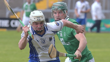 Eoin Doyle of Craanford races away from Sam Kelly