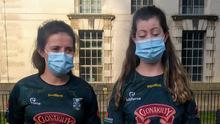 Aisling Dunphy (Laois) and Lily Harrington (Cornwall), two of the Fr. Murphy's members who work as nurses