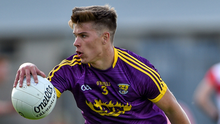 Eoin Porter, whose early depature added to the magnitude of the task facing Wexford