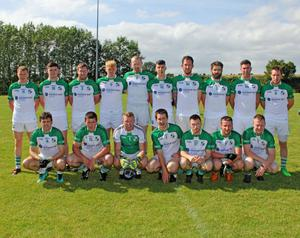 The St. James' squad prior to Saturday's defeat
