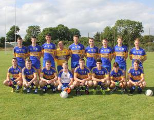 The Gusserane team before retaining the Tommy Murphy Cup title in Cushinstown on Saturday