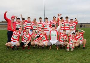 St. Mary's (Maudlintown) celebrating their county championship success