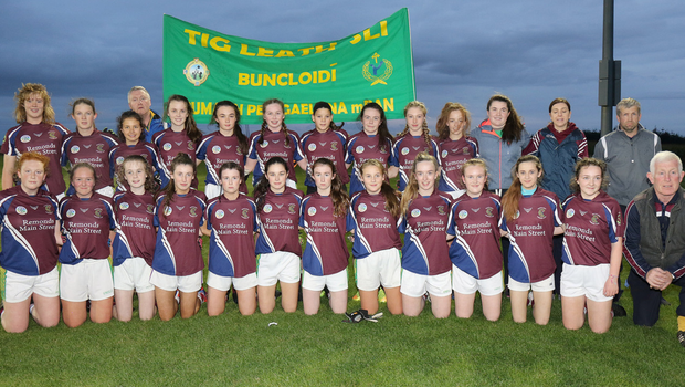 The HWH-Bunclody players who contributed in such rich measure to a memorable final