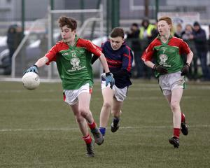 Jack Higgins and Conor Kelly leading the charge for Gorey Community School