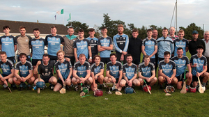 St. Anne's - all set for another crack at the county Junior 'B' hurling title after losing the 2019 final to Rathnure after a replay. The squad above beat Blackwater last August to retain their District crown
