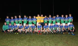 The Glynn-Barntown squad before their defeat to keen rivals and one-time under-age partners St. Martin's