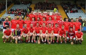 The Fethard squad prior to Saturday's Leinster Club Junior hurling championship victory in Innovate Wexford Park