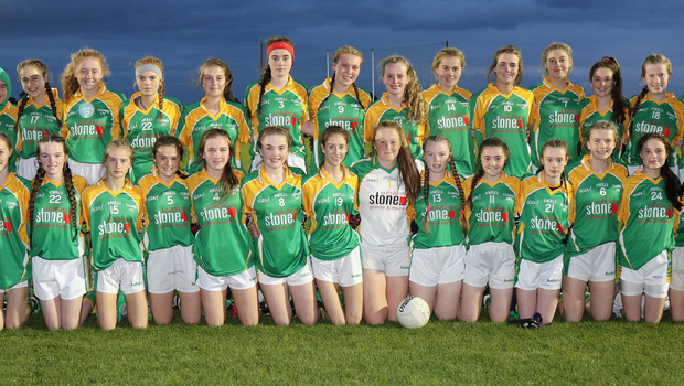 The victorious crew from Clonee