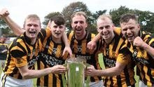 Celebration time for Aaron Murphy, Kyle Roche, James Cash, Jody Donohoe and Conor Hearne