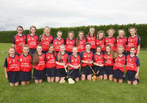 The Kilrush squad before their Under-14 Premier championship triumph