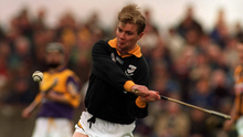 Martin Carey in the Kilkenny colours in 2000 against Wexford