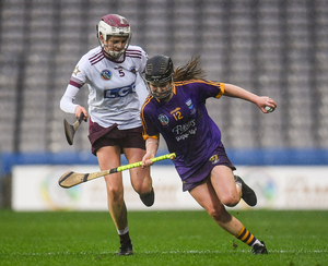 Chloe Foxe, who scored four of Wexford's consolation points from placed balls
