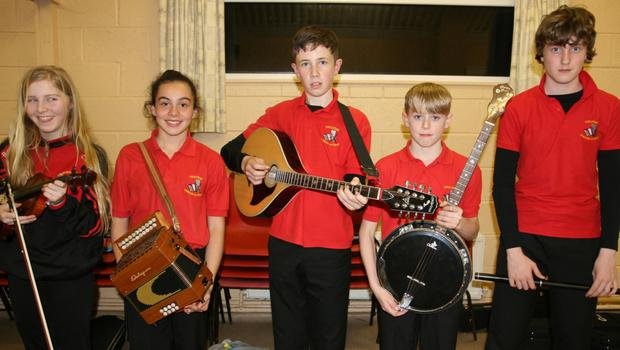 One of the instrumental music groups from Bannow-Ballymitty