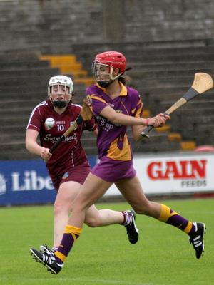 Sarah O'Connor clears her lines for Wexford