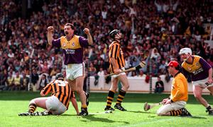 When Billy Byrne sunk the Cats in 1997, the world seemed like a perfect place for Wexford hurling fans.