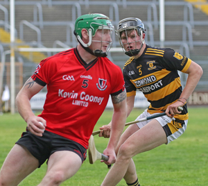 Podge Doyle of Rathnure keeping tabs on Anthony Roche