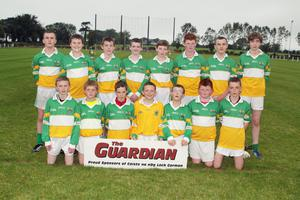The Duffry Rovers team before their success in the local derby against Marshalstown-Castledockrell