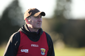 Wexford manager Paul McLoughlin