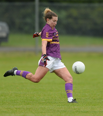 Fiona Rochford accounted for all three Wexford points from frees
