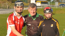 New Ross captain Niall Connolly (left) before the final