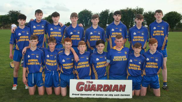 The Ballinastragh Gaels Juvenile hurlers who spoiled the party for Oulart-The Ballagh last week