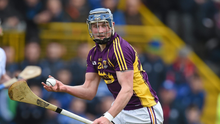 Ian Byrne is back in the Wexford hurling fold for the 2019 campaign. Photo: Ramsey Cardy/Sportsfile