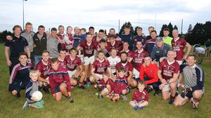 With no league football played last year, Castletown will set out in defence of a title they secured in July of 2019 (above)