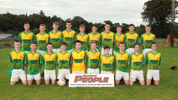The successful HWH-Bunclody squad