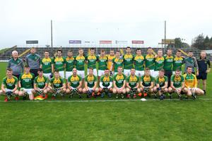 The HWH-Bunclody panel before Sunday's final, their third defeat at this stage since 2010