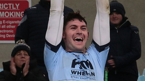 Aaron Craig and his St. Anne's colleagues are the 13th team in the 2021 Senior football championship