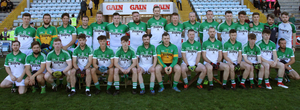 The Cloughbawn squad prior to losing this final for the third time in six years