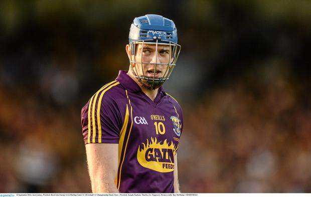 The Wexford mentors are contemplating whether or not Jack Guiney will have a role in Sunday's showdown with Kilkenny.