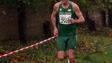 Niall Sheil of St.Killian's helping team Ireland to gold at the Five Nations Masters cross-country event