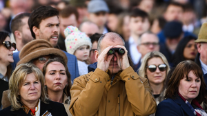The way we were: Racegoers last year. The Cheltenham Festival will be an entirely different spectacle this year. Photo by Harry Murphy / Sportsfile